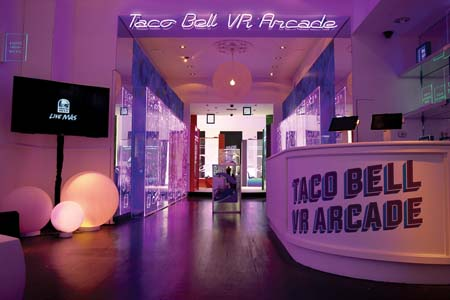 Taco Bell Opens Virtual Reality Pop-Up Experience In NYC To Kick Off Play Station VR Sweepstakes