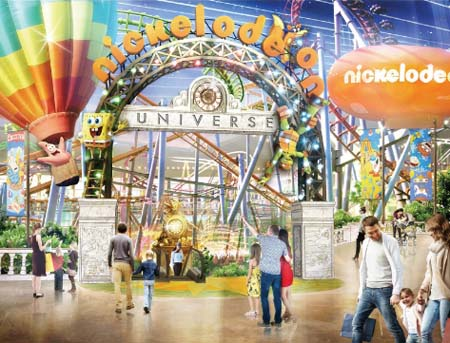 Nickelodeon Universe Theme Park To Open At American Dream Mall