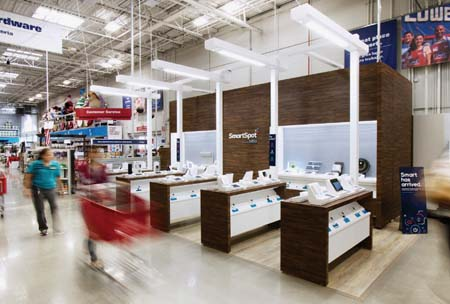 Lowe's Offers 'SmartSpot Powered By b8ta'