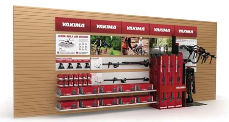 Yakima Offers Redesigned Display For Vehicle Racks