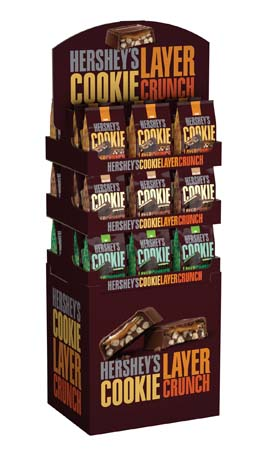 Hershey's Displays Cookie Layer Crunch Bars