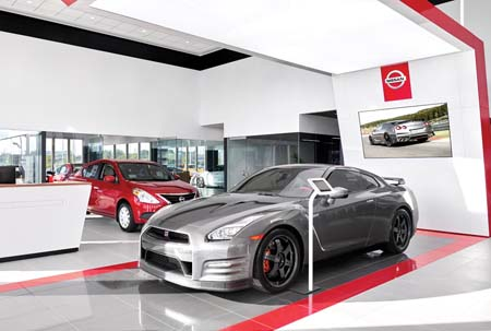 Nissan Debuts New Retail Design