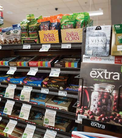 Raleys Makes Check Stands 'Better For You'