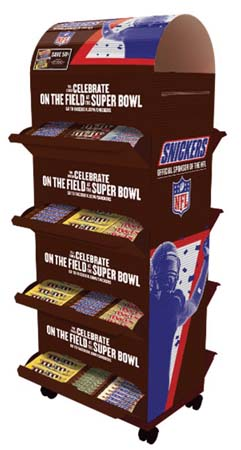 Mars Launches SNICKERS Bar Super Bowl Promotion