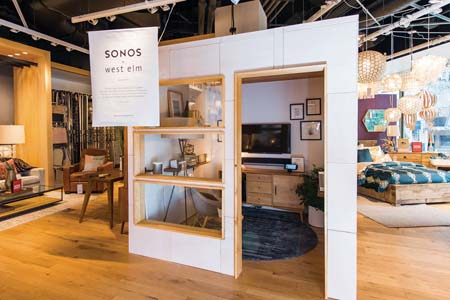 Sonos Designs Immersive Listening Experiences In  West Elm Locations