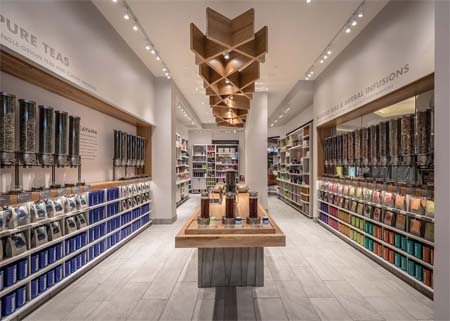Teavana Stores Redesigned  For Tea Discovery