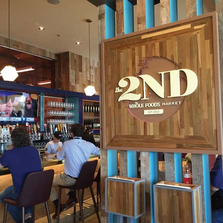 'The 2ND' Opens At Whole Foods Market