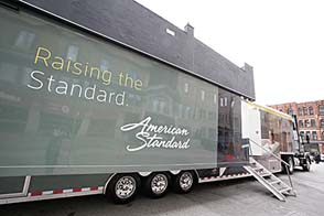 American Standard, DXV, & GROHE Launch 'Beauty In Motion' Mobile Experience Tour