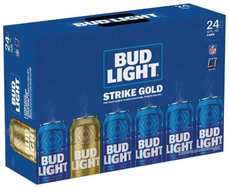 Bud Light Promotion Offers Chance To Win Super Bowl Tickets