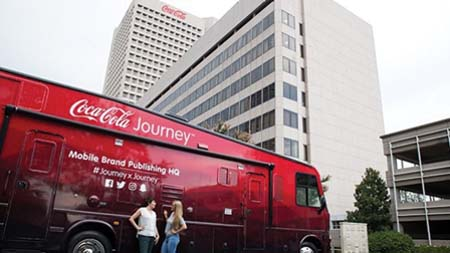 Coca-Cola Embarks On  Storytelling Road Trip