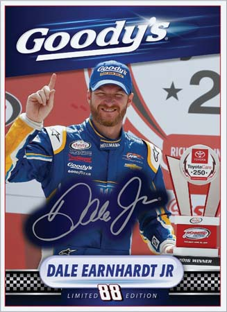 Goody's Runs Exclusive Dale Jr. Photo Finish Trading Card Promotion
