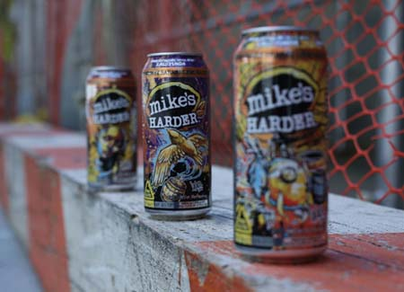 mike's HARDER Promotes Collectible Cans