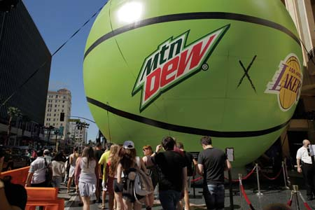 Mountain DEW Launches NBA Partnership