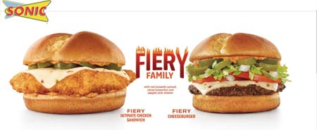 SONIC Presents New Fiery Sauce With Two Bold Sandwiches