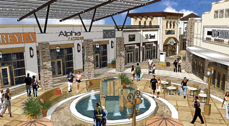 Tanger Outlet Centers In Fort Worth, Texas