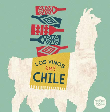 Wines Of Chile Features In-Store Displays In Whole Foods