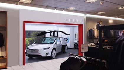 Tesla Gallery Launches At Nordstrom The Grove