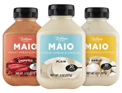 Bolthouse Farms Introduces MAIO Yogurt-Based Spreads