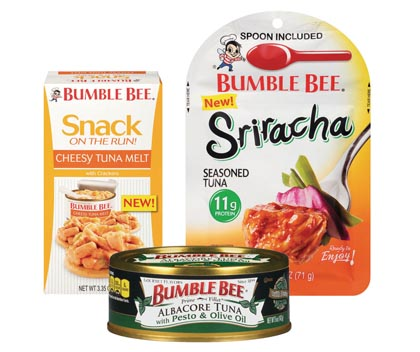 Bumble Bee Introduces Bold New Flavors