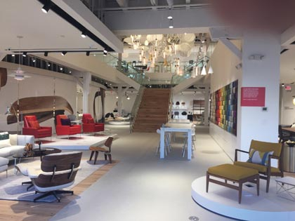 Design Within Reach Opens New 26,000 Sq. Ft. Space In Portland, OR