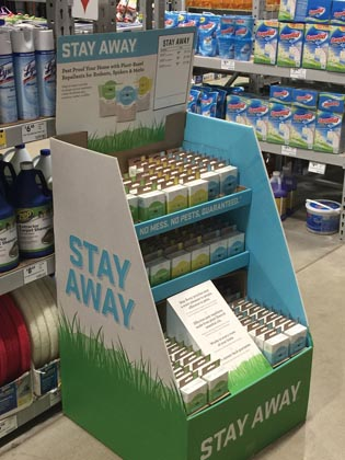 EarthKind Pallet Displays Roll Out In Lowe's Stores