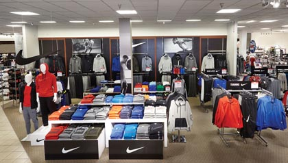 JCPenney Launches Nike Shops