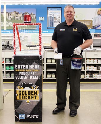 PPG PAINTS Stores Run  'Golden Ticket' Promotion
