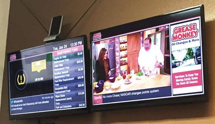 Grease Monkey Partners With 10 Foot Wave On Digital Signage
