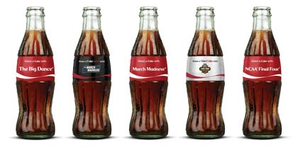 Coca-Cola Refreshes  March Madness Fans With New Commemorative Bottles