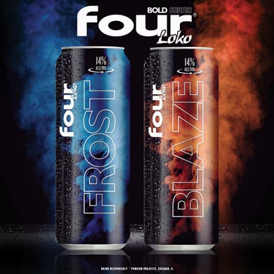 Four Loko Introduces New 'Bold Series' Beer