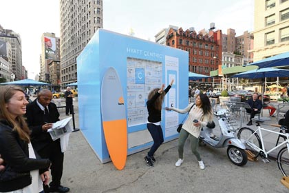 Hyatt Centric PopUp Invites Travelers To Explore NYC