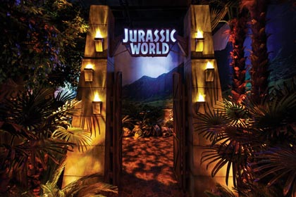 Jurassic World Exhibit Opens At Franklin Institute