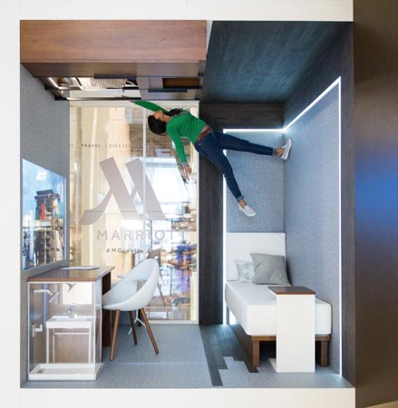 Marriott Hotels Unveils #MGravityRoom Promo
