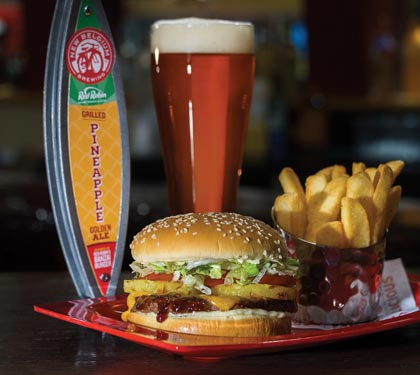Red Robin Gourmet Releases Beer With New Belgium Brewing