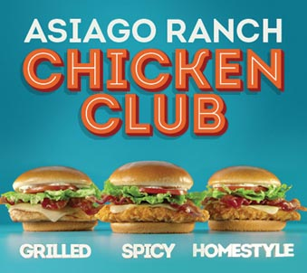 Wendy's Promotes New  Ranch Chicken Club
