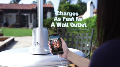 Coffee Bean & Tea Leaf Taps Zon To Charge Mobile Devices