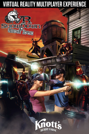 Knott's Berry Farm And VRstudios Unveil 'VR Showdown In Ghost Town'