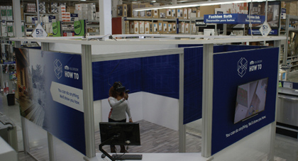 Lowe's Next-Generation VR Experience, Holoroom Provides DIY Clinics