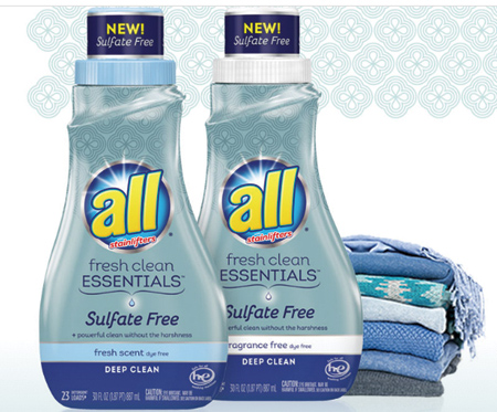 all Launches Sulfate-Free Detergent – ESSENTIALS