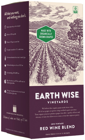 Earth Wise Launches Organic Red Wine Blend