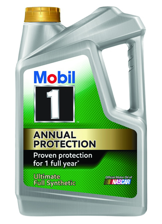 ExxonMobil Debuts  Mobil 1 Annual Protection Synthetic Motor Oil