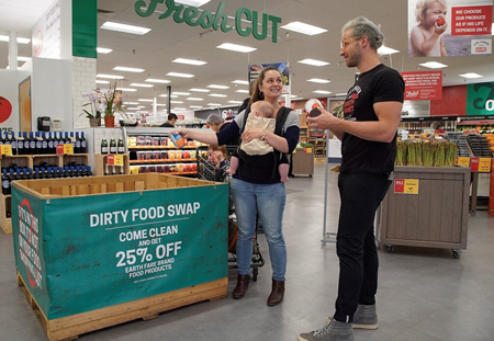 Earth Fare Invites Shoppers To Come Clean With Dirty Food Swap
