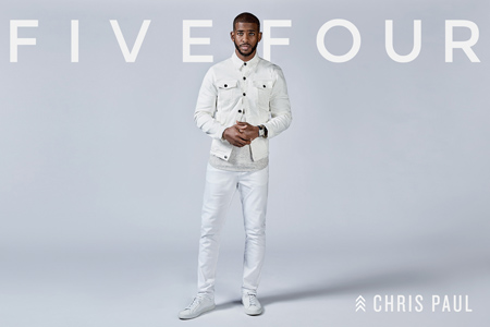 Five Four Introduces Chris Paul As The New Face Of Its Summer 17 Campaign
