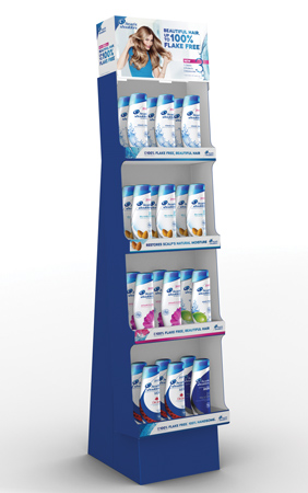 Head & Shoulders Displays New 3 Action Formula