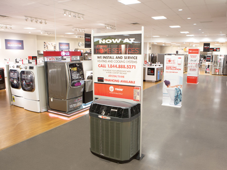 JCPenney Uses Displays  To Expand Home Services