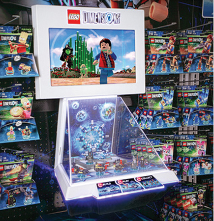 Interactive Display Supports LEGO Dimensions Campaign