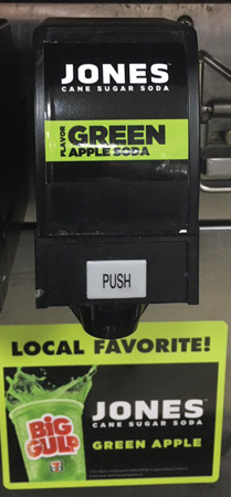 Jones Soda Green Apple Now Available On Fountain At 7-Eleven