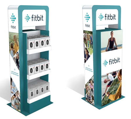 FitBit Displays Placed In Department Stores
