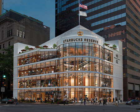 Starbucks To Open Reserve Roastery On Chicago's Mag Mile