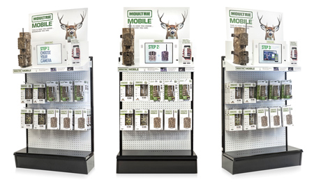 Moultrie Mobile Endcap Display Engages Shoppers